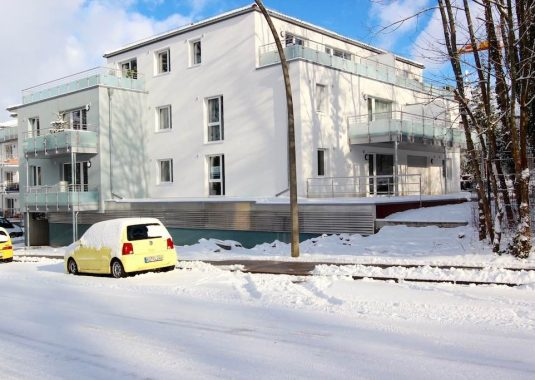 Von Kuhn Immobilien verkaufte Neubau-Eigentumswohnung in Bad Kissingen