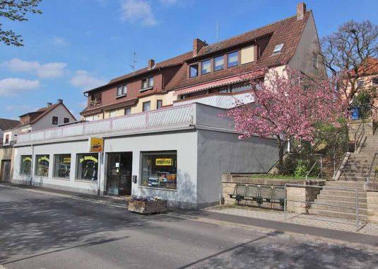 Von Kuhn Immobilien verkaufte Wohn- und Gewerbeimmobilie in Hammelburg