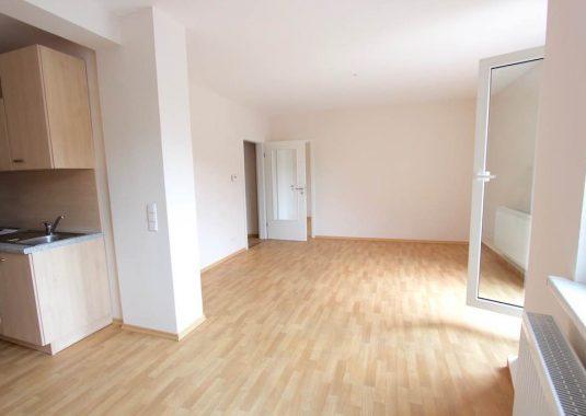 Von Kuhn Immobilien vermietete Wohnung in Bad Kissingen
