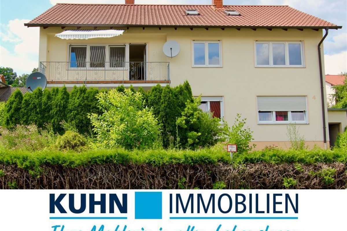 Ansicht 2 mit Signet - Kuhn Immobilien Bad Kissingen