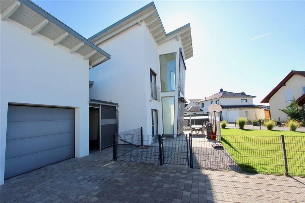 Blick zur Terrasse - Kuhn Immobilien Bad Kissingen