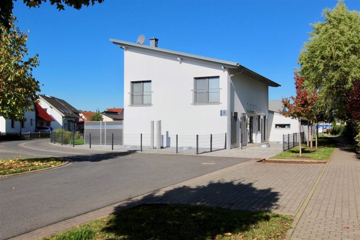 Zufahrt Eingang - Kuhn Immobilien Bad Kissingen