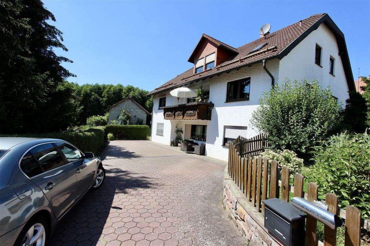 Zufahrt 2 - Kuhn Immobilien Bad Kissingen