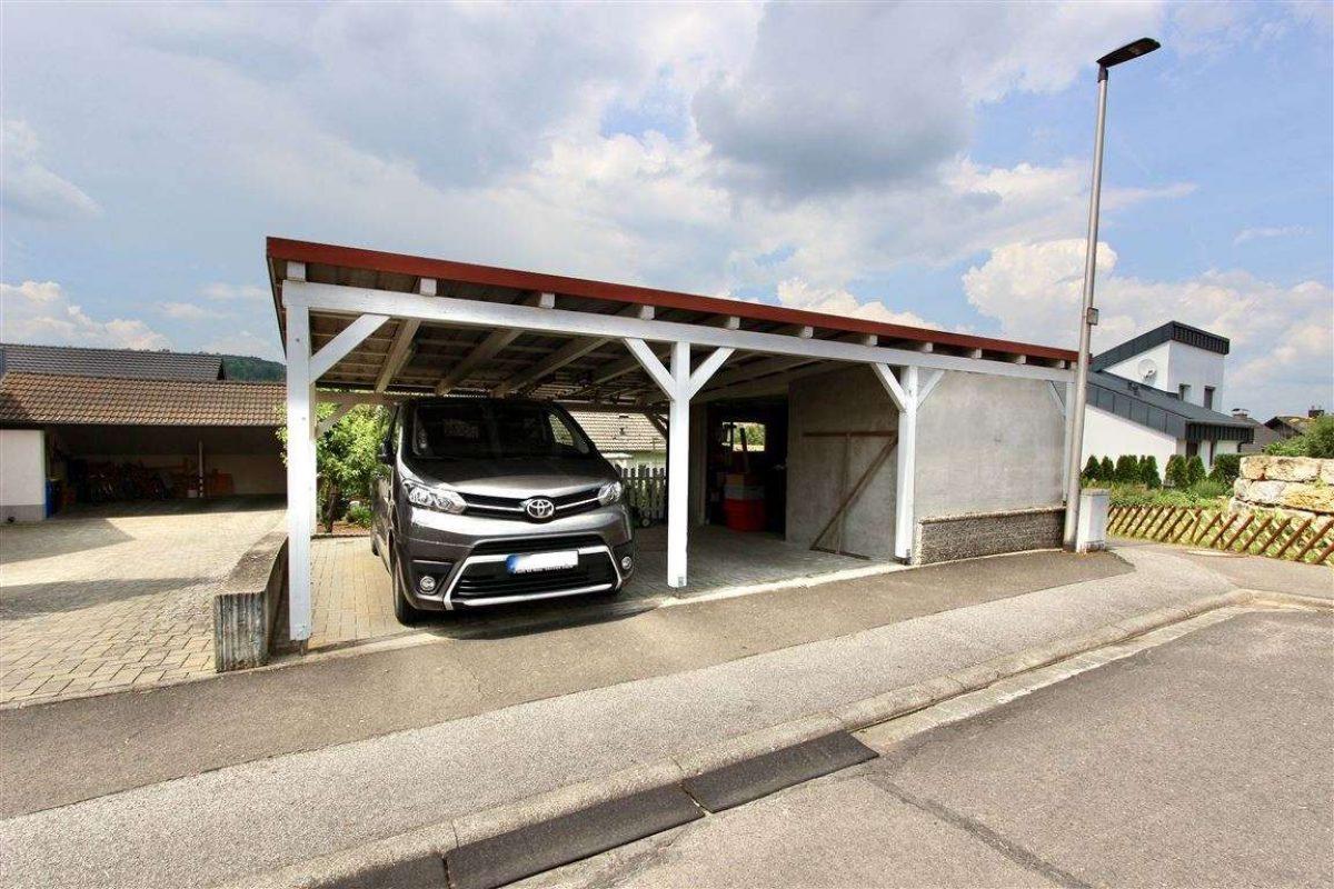 Carport mit Lager - Kuhn Immobilien Bad Kissingen