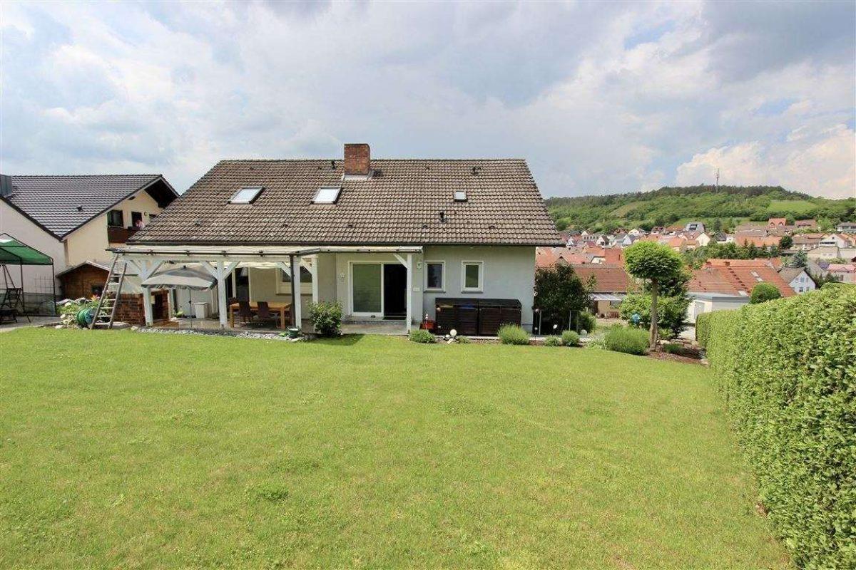 Garten, Fernblick - Kuhn Immobilien Bad Kissingen